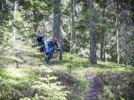 San Candido - Bikeschool Alta Pusteria: Giro Single Trail Endurotour 5 funivie 5 montagne