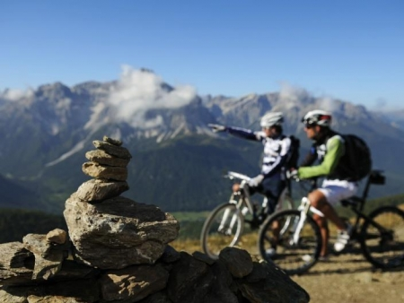"Dobbiaco - Dobbiaco: Autunno³Montagna: Tour in Mountain-bike ""CORNETTO DI CONFINE"""