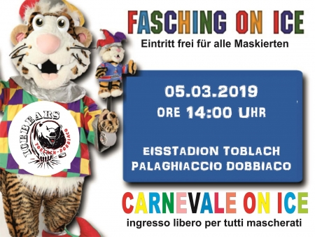 Toblach - Toblach: Fasching on ice